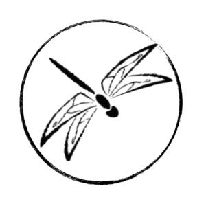 La libellula, logo di Akitsukai Lucca